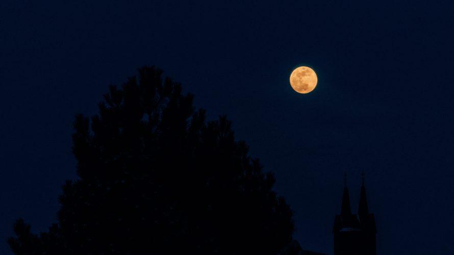 満月と骨盤